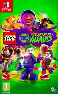 LEGO DC Super Villains NINTENDO SWITCH Pal Ita NUOVO & SIGILLATO