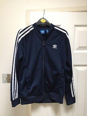 Kids Childs Adidas Originals Tracksuit Top Youth 11 -12 Years Football