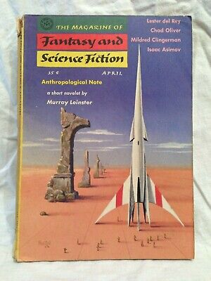 Magazine of Fantasy & Science Fiction, Apr 1957, Murray Leinster, Poul Anderson