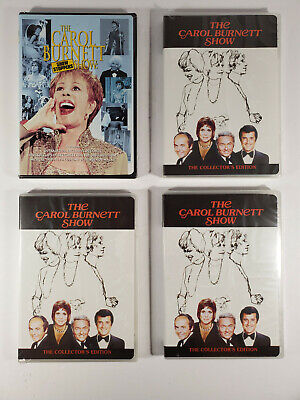 Lot - The Carol Burnett Show Collectors Edition & Show Stoppers 4 New DVDs 2002
