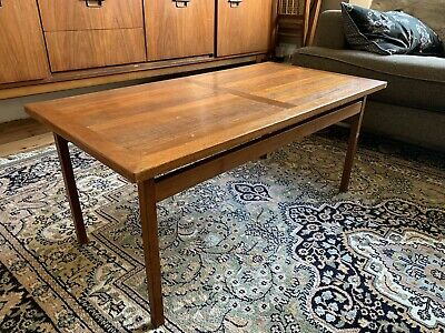 Danish mid-century Teak Coffee Table By France And Sons
