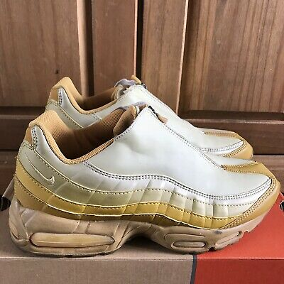 reputable site 28f10 5c7c2 Nike Air Max 95 Z Zip Gold 9.5uk OG Box Restoration Rare Vintage 609083-