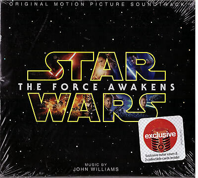 """Star Wars """"The Force Awakens"""" Exclusive Limited Edition Soundtrack CD Target"""