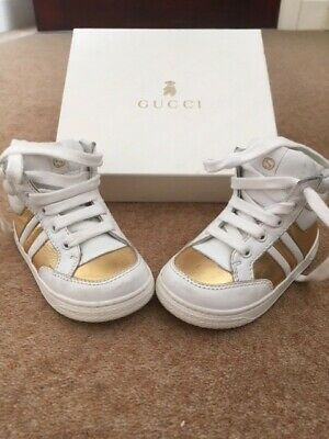 Boxed, GUCCI Girls,Infants,Kids,Gucci,Shoes,Trainers Size 21 EU and 4.5 UK.