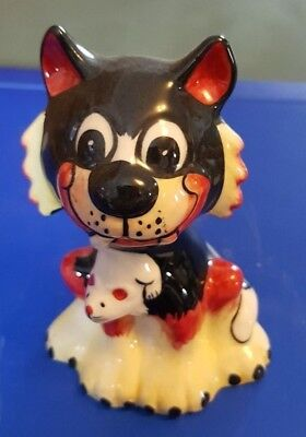 Lorna Bailey Cat with mouse Limited Edition 5/6 FREE P&P