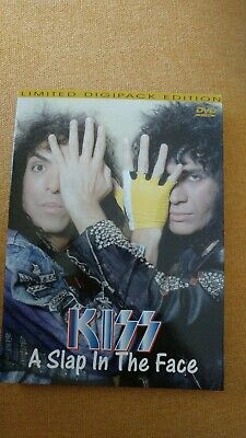 Kiss A Slap In The Face Live Dvd 1990 Rare. Heavy Metal.hard Rock.
