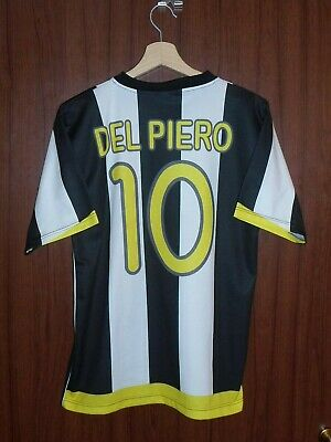 113b09ed5  10 DEL PIERO JUVENTUS FC Football SHIRT Jersey size S Tricot Maglia ITALY