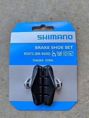 72bc4cd9e3f NEW SHIMANO TIAGRA BR-4600 Silver Brake Caliper Pad Front Rear Set ...