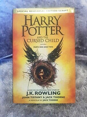 Harry Potter and the Cursed Child First Edition  2016 J.K. Rowling HB