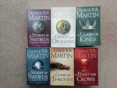 A Song Of Ice and Fire (Game Of Thrones) Book Collection