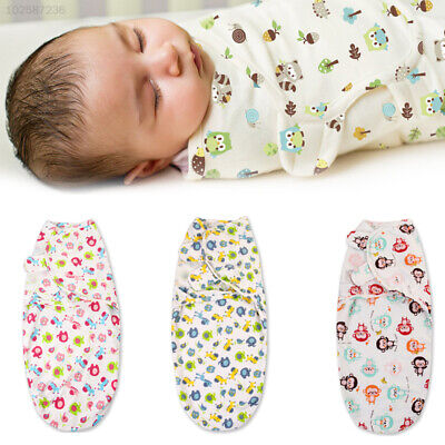 7A3D 5 Colors Blanket Wrap Swaddle Wrap Cover Secure Baby Sleeping Bag