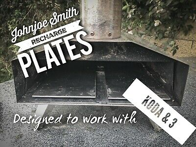Johnjoe Smith Pizza Ovens Recharge Plates For Ooni Koda, 3 And Pro Pizza Ovens