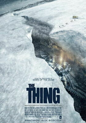 159185 THE THING - Kate Lloyd Horror Moster Movie Decor Wall Poster Print CA