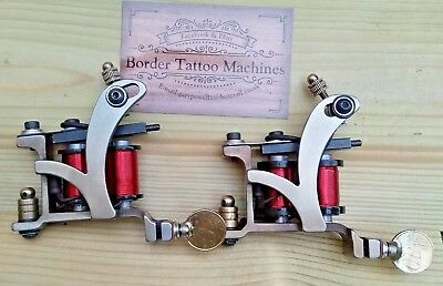 TATTOO MACHINES COLOUR Packer & Cut Back Liner.set Up And Tuned ...