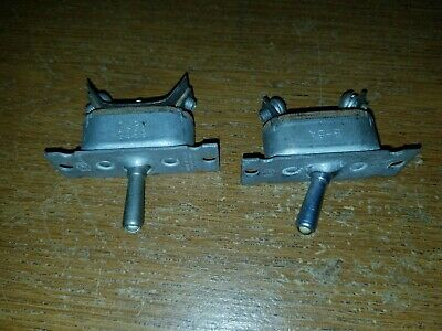Vintage Toggle Switch Double On And Single Large Mechanical
