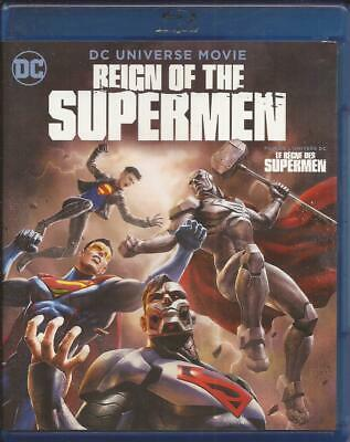 Reign Of The Supermen Blu-Ray + Dvd Combo Dc Universe Region A 2019
