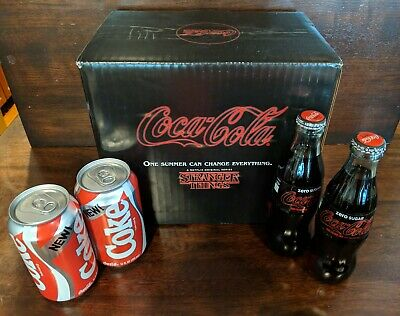StrAnGer Things 1985 NEW CoKE Collectors Pack Coca Cola Limited Edition RARE Ltd