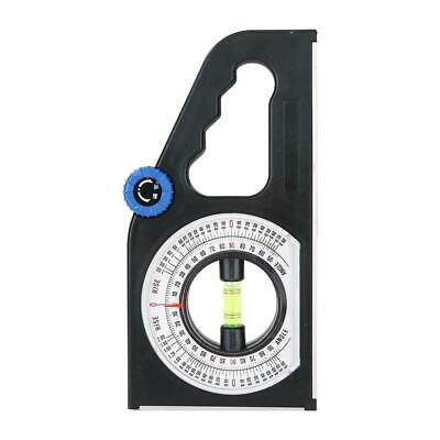 Magnetic Base Slope Inclinometer Angle Finder Measuring Slope Ruler Protractor