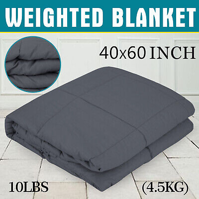 Weighted Blanket Deep Relax Sleeping Gravity for Adult Men Women Soft Cotton AU