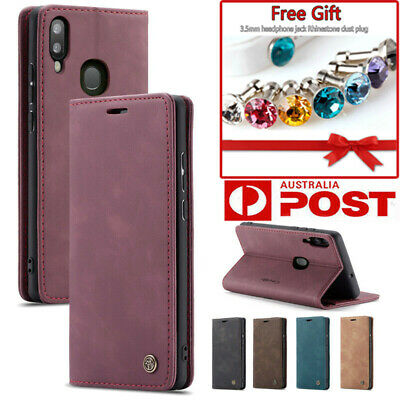 For Samsung Galaxy A20 A30 A40 A50 A70 Case Leather Magnetic Wallet Stand Cover
