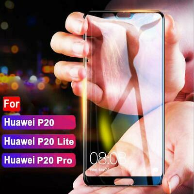 Premium Full Cover Tempered Glass Film Screen Protector For Huawei P20 Lite