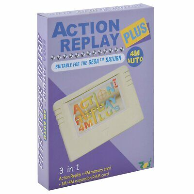 EMS Action Replay Plus 4M Memory Card for SEGA Saturn SS Console