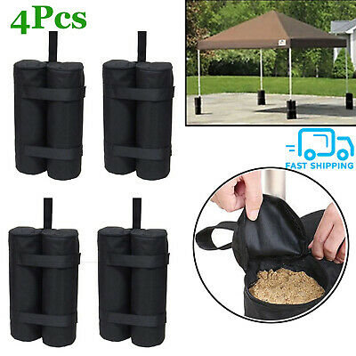 4x FOOT LEG POLE SANDBAG GAZEBO LARGE WEIGHTS MARQUEE MARKET STALL SAND BAGS UK