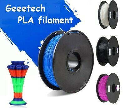 PLA Filament Geeetech 1.75mm  Blue/red/purple/black/white/yellow for 3d Printer