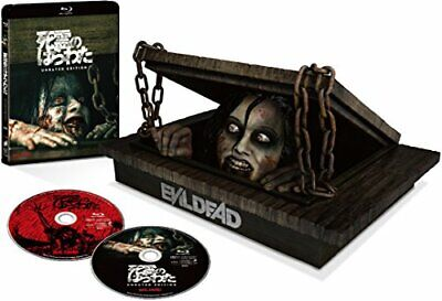 New The Evil Dead 2013 Unrated Edition BOX with 2 Blu-ray + Figure