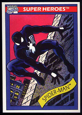 Spider-Man Repro 1990 Impel Trading Card No 2 . Marvel Comics Not Dvd