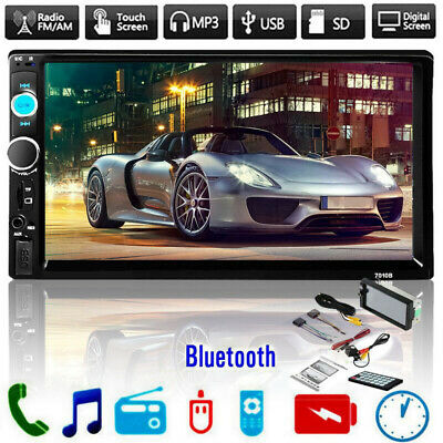 "7"" 2Din Pantalla táctil Coche MP5 Reproductor Bluetooth Radio FM estéreo USB TF"