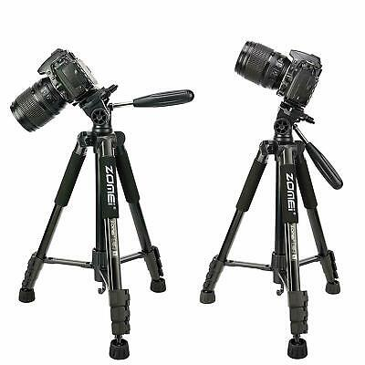 ZOMEI Q222 Camera Tripod Monopod 2in1 Lightweight Portable for Canon Sony Nikon