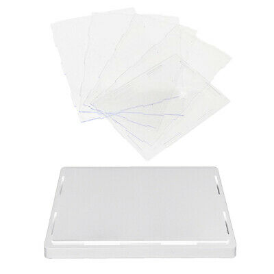 MagiDeal Clear Acrylic Display Box Dustproof Case for Doll Toy Display White
