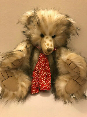Suki/silver Tag® Bear ~exciting Edward~ An Exceptional Collectable Lovable Bear! Artist