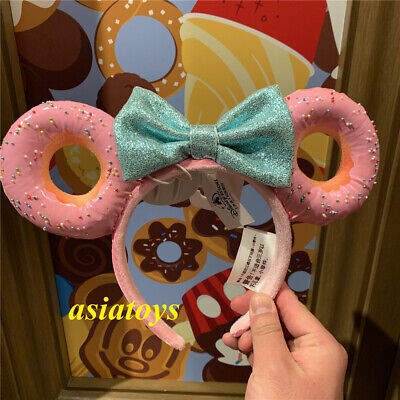 Authentic with tag Disney parks minnie mouse ear headband Donuts sweets