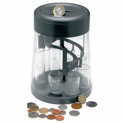 2 x Digital Coin Counter Sorter Money Jar Change Counting Machine LCD Display
