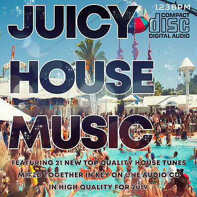 Juicy House Music 2019 NEW DJ MIXED CD 🌟 Real House Club Dance Floor Music 🌟