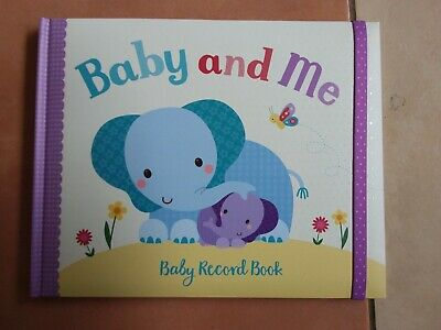 New Little Learners Baby and Me - Baby Record Book - For Parents to be Present