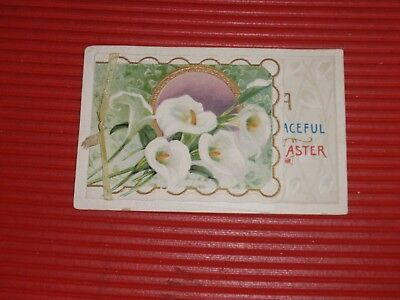 Antique Religious Post Card Easter Holy Card