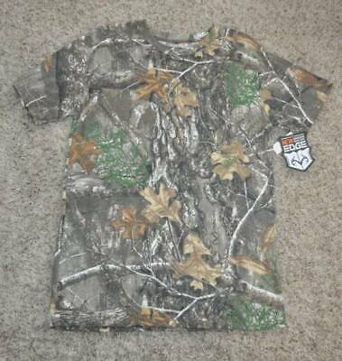 9810add231 NWT-Mens Realtree Green Camouflage Short Sleeve Tee Crewneck Shirt-size L &  XL