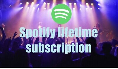 Spotify Premium Account - LIFETIME - Personal Account - Worldwide With Warranty