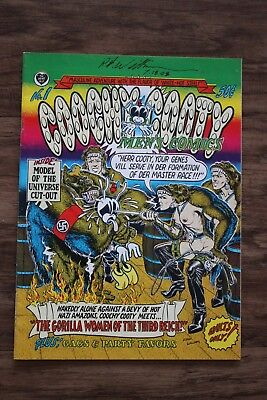 Hand Signed-Robert Williams-Coochy Cooty-New-50 Cent-Mint-Near-Mint-1St Edition