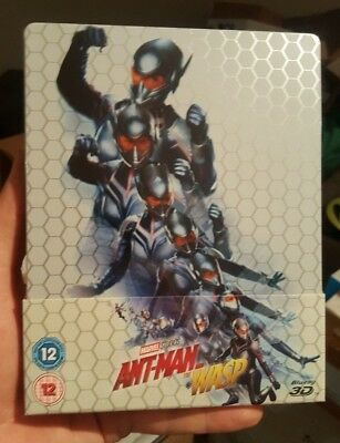 Ant-Man and the Wasp 3D - Limited Edition Steelbook (Blu-ray 2D/3D) BRAND NEW!!