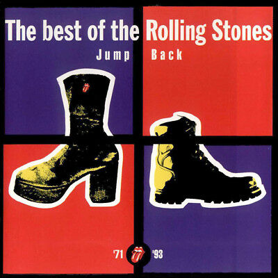 CD Rolling Stones Jump Back: The Best of The Rolling Stone-ROCK-HARD-HEAVY METAL
