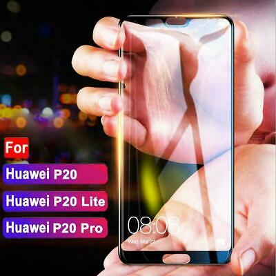 Premium Full Cover Tempered Glass Film Screen Protector For Huawei P20 Lite Best