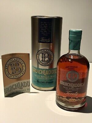WHISKY BRUICHLADDICH TWENTY SECOND EDITION 20 YEARS OLD SINGLE MALT IN BOX 70cl.