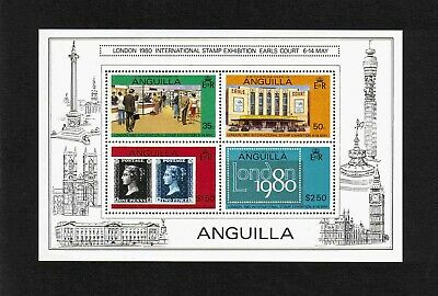 "Anguilla 1979 """"London 1980"" International Stamp Exhibition M/S (SG MS388) MNH"