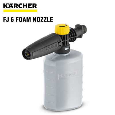Karcher FJ6 Foam Jet Gun Nozzle Bottle Spray suit K2 - K7 Pressure 2.643-147.0