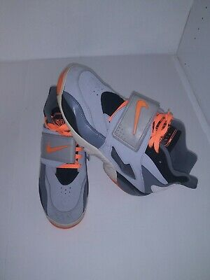 908fe3017c Nike Air Diamond Turf Retro OG Deion Sanders Orange And G Sz 13 Style 309434 -