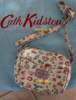 Cath Kidston Kids Girls Oilcloth Shoulder Cross Body Hand Bag Forest Animals